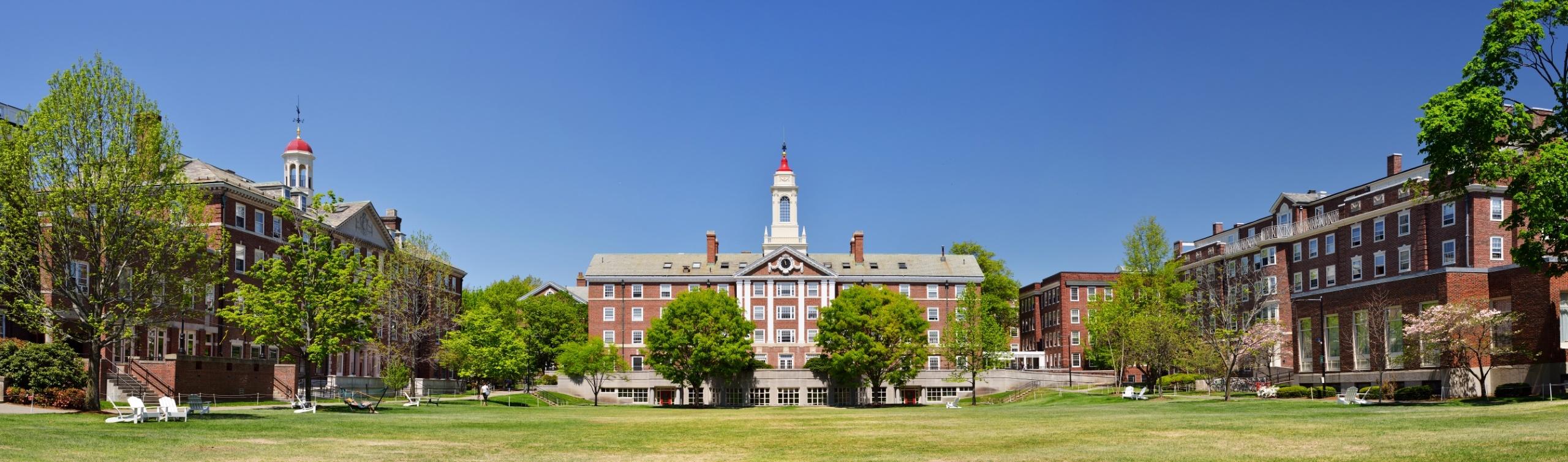 Radcliffe,Quadrangle,(the,Quad),At,Harvard,University